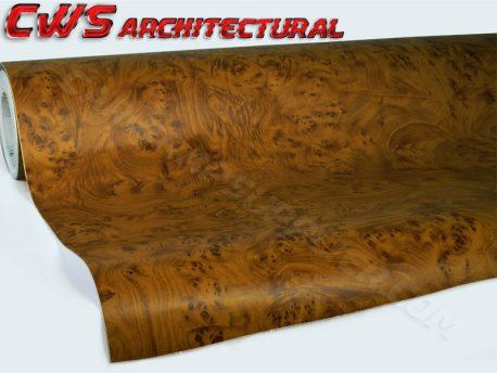 knotty maple architectural wood grain vinyl wrap