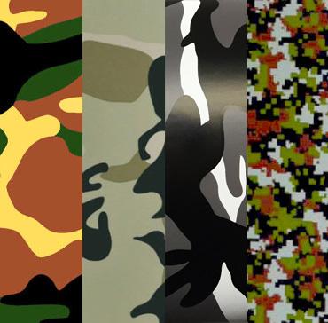 Camouflage Vinyl Wraps