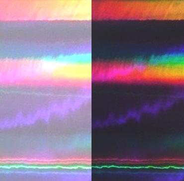 Holographic Vinyl Wraps