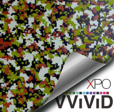 Camouflage Urban MARPAT vinyl wrap