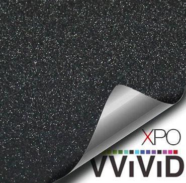 Diamond Sanding Black Vehicle Vinyl Film