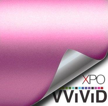 Pastel Pink Matte Car Wrap Vinyl Film