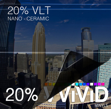 Window Tint for Cars 20% VLT