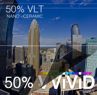 Window Tint for Cars 50% VLT