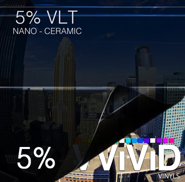 Window Tint for Cars 5% VLT