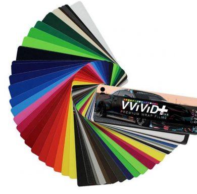 Vvivid Plus Car Wrap Sample Book